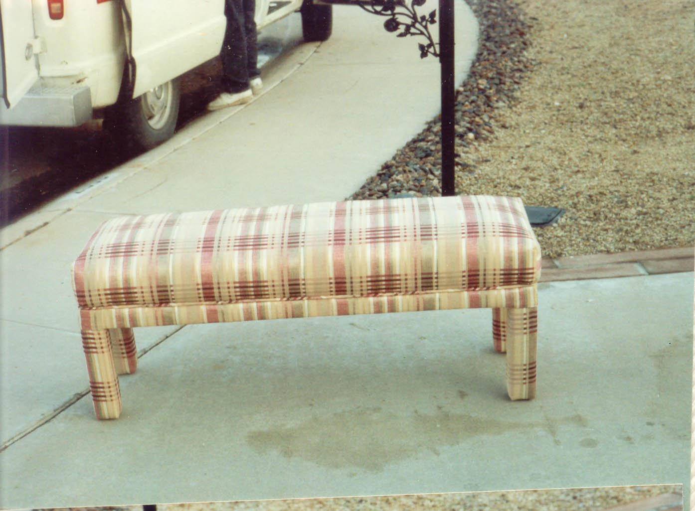 custom made bench. click picture for larer view